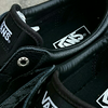 sepatu vans milton leather snake black/pewter original