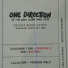 tiket konser One Direction