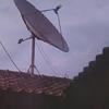 Parabola gerak 6ft + decoder penggerak & receiver