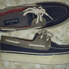 Sperry Grey blue bahama size M 9