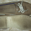 Sperry ori canvas soft Grey size M 9 boat shoes