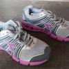 Sepatu running diadora dan adidas adiprene size 6.5 uk dan 8.5 uk ori