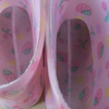 sepatu boots anak cherry pink