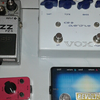 Vox ice 9 Boss fuzz FZ5 Mooer ana echo Revolt Switch a/b looper