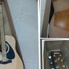 Gitar Stinger, Yamaha, Samick,Senar D'addario,D'orazio ori italy,kabel jack,bass
