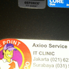 Jual laptop axio mode m740sun core2 duo