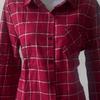 kemeja flannel wanita