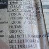 stnk bpkb rangka dan crankcase kiri tiger revo pajak panjang
