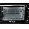 Kirin KBO-190RAW Oven Elektrik - 19 L - Putih/Hitam