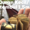 Al Quran Kecil Ukuran 1,5 meter