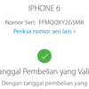 Dijual Cepat Iphone 6 Grey 64GB Resmi Ibox Lengkap Ori LTE FU