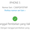Dijual Cepat Iphone 5 White 16GB Resmi Ibox Lengkap Ori LTE FU
