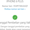 Dijual Iphone 6 plus Gold 16GB FU Ori Lengkap LTE