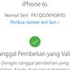 Dijual Iphone 6s Grey 128GB Lengkap Ori LTE FU