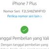 Dijual Cepat Iphone 7 Plus Jetblack 128GB FU Ori Lengkap LTE
