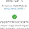Dijual Cepat Iphone 6 Plus 16GB Gold Lengkap Ori LTE FU