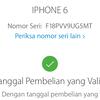 Dijual Iphone 6 Silver 64GB Lengkap LTE FU Ori