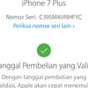 Dijual Iphone 7 plus Rose Gold 128GB Lengkap Ori Lte FU