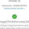 Dijual Iphone 5s Grey 16GB Resmi Ibox Lengkap Ori Lte FU