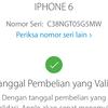 Dijual Iphone 6 Grey 128GB Lengkap Ori LTE FU