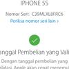 Dijual Iphone 5s Gold 16GB Resmi Ibox Lengkap Ori Lte FU