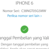 Dijual Iphone 6 Grey 128GB Fullset Ori Lte