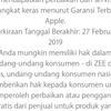 Iphone X 256 Gray inter Cod Bogor