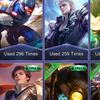 Akun Mobile legends skin epic banyak