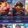 akun moba Hero full and Emblem full