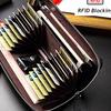 BISON DENIM Original Dompet Panjang RFID Wallet Zipper Clutch - Brown