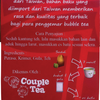 Bubble Tea Couple Tea Sachet