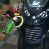 Detailing Motor,Poles,Coating New Vespa Big Bike Big Matic Area BSD Delivery Sevice..