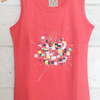 "[READY STOCK] Kaos Sleeveless ""Squares"" ORIGINAL DESIGN"