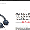 AKG K420 HEADPHONE