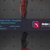 [WTS / JUAL] Knife / Piso / Skins CS:G0 rate 0.75 market only!!
