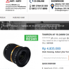Lensa Tamron Super Wide For Canon SP AF 10-24mm F/3.5-4.5 Di-II LD Aspherical (IF)