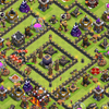 Jual clash of clans th10 bonus cr lvl 9