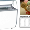 ICE CREAM CABINET , COUNTERTOP ICE CREAM , SHOWCASE SCOOPING ICE CREAM