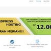 Wordpress Hosting Unlimited MURAH!