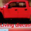 Diecast Miniatur Ford Raptor - color Red