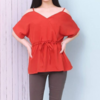 Pakaian Wanita Import / Vivian Open Shoulder Blouse / Ready Stock
