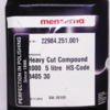 Menzerna Heavy Cut Compound 1000 isi 5Liter