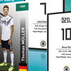 Kartu Bola Fezballer Cards Germany World Cup 2018