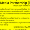 Lowongan Business, Community, & Media Partnership