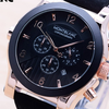Jam Tangan Pria Montblanc Chrono ON Leather Black Rose Black