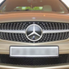 Grill Diamond Mercedes Benz W204 List Silver