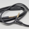 Original Monster Beats Studio Audio Cable Replacement 3.5MM Kabel Aux - With Mic Gray