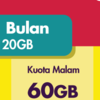 Modem Wifi 4G Router WiBox Wi Box W1 Smartfren Kuota 1200 GB 1 Tahun
