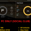 [PC] - GTA 5 ACCOUNT (SOCIAL CLUB)