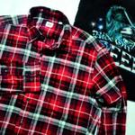 xareevx--kemeja-flannel-uniqlored-tartanoriginal-secondrarecod-semarang